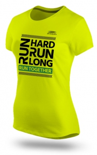 Run Hard Run Long Yellow (Female)